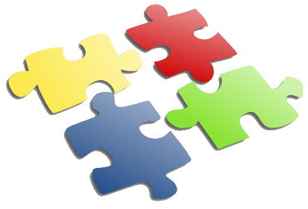 An image depicting puzzle pieces
