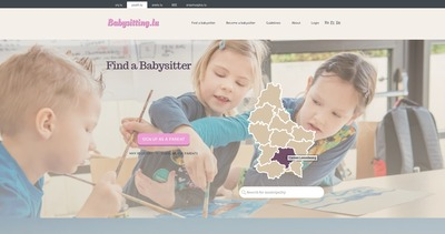 babysitting home page